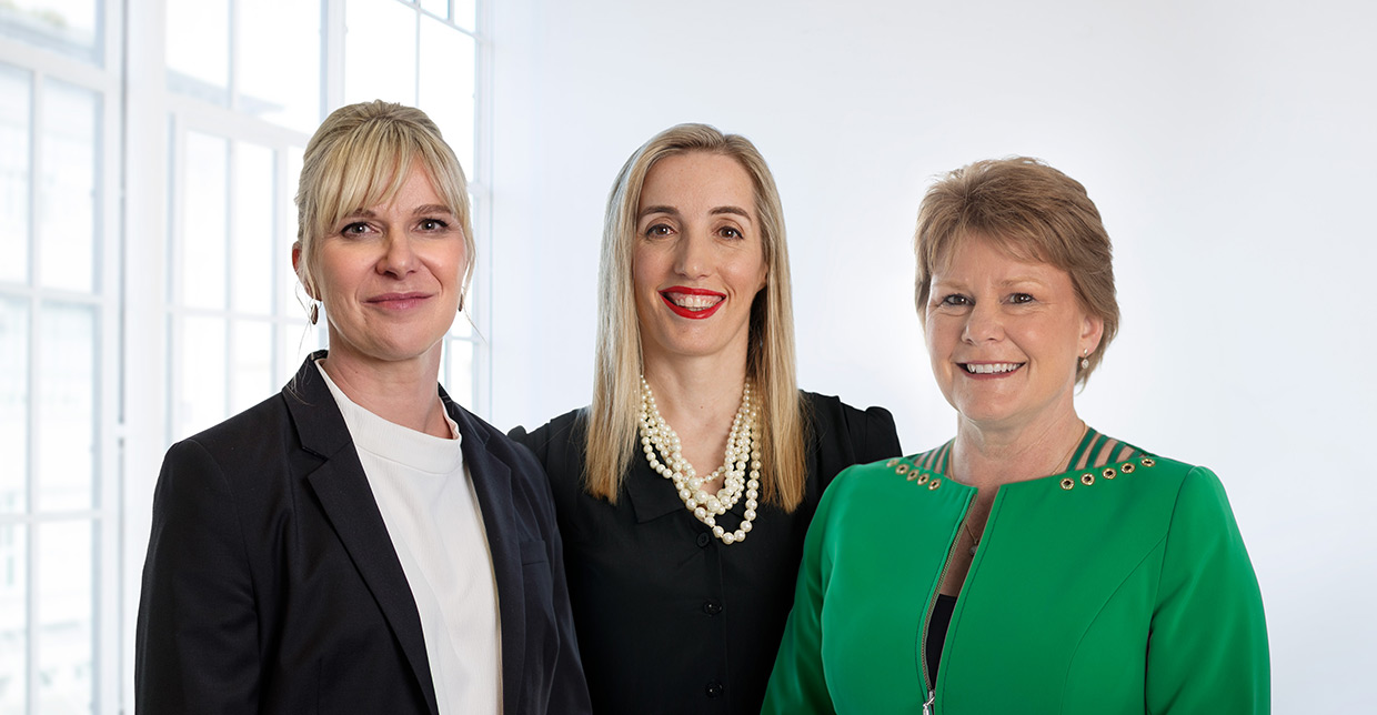 Photo of Allison Arthur-Young, Polly Pope & Jo Avenell