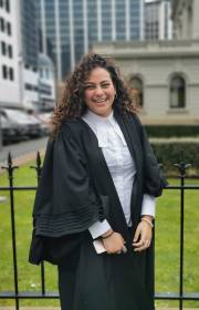 Oprah-inspired, Egyptian-born lawyer striving to make a contribution